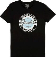 Fender Guitar And Amp Logo T Black/Daphne Blue