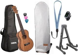 Cascha HH2048 Premium Tenorové ukulele Natural
