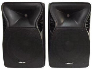 LEWITZ PPA1012A 2x250 Watts RMS Portable PA System