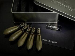 Gemini Carp Tackle A.R.C System Leads Silt Brown