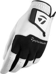 TaylorMade Stratus Leather Guanti da Golf da Uomo White/Black