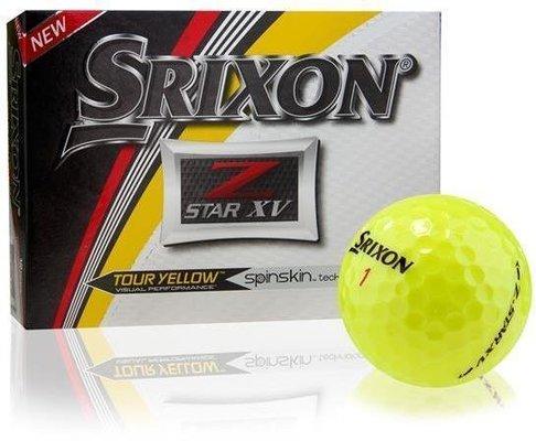 Srixon Z Star XV 5 Yellow 12 Balls