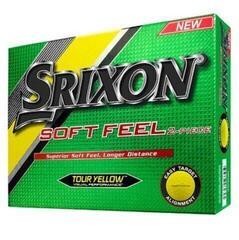 Srixon Soft Feel 10 Yellow 12 Balls