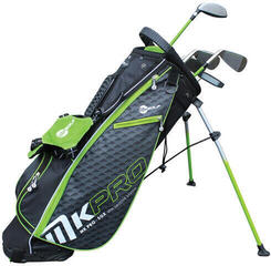 Masters Golf MKids Pro Junior Set Right Hand Green 57IN - 145cm