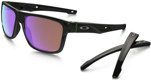 Oakley Crossrange Polished Black/Prizm Golf