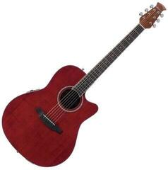 Ovation Applause AB24II Mid Cutaway Ruby Red