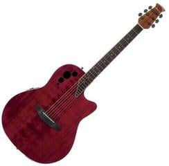 Ovation Applause AE44IIP Mid Cutaway Cherry Flame