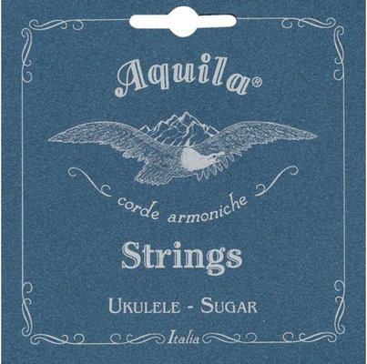 Aquila Sugar Ukulele String Set Soprano low G wound
