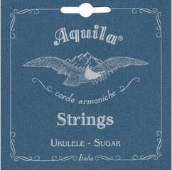 Aquila Sugar Ukulele String Set Concert low G wound