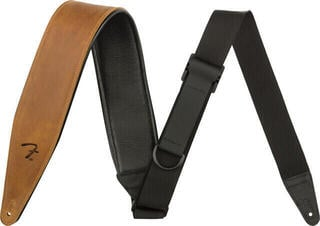 Fender 2,5'' Right Height Leather Strap Cognac