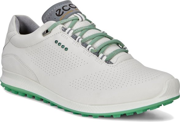 Ecco Biom Hybrid 2 Damskie Buty Do Golfa WhiteGranite Green 42
