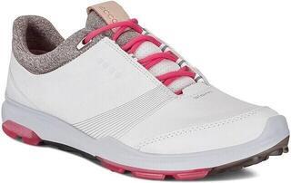 Ecco Biom Hybrid 3 Womens Golf Shoes White/Teaberry