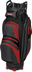 BagBoy Techno 337 Waterproof Charcoal/Red/Black Cart Bag