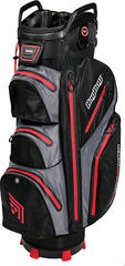 BagBoy Techno 302 Waterproof Black/Charcoal/Red Cart Bag