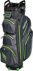 BagBoy Techno 302 Waterproof Slate/Charcoal/Lime Cart Bag