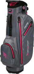 BagBoy Techno 311 Waterproof Charcoal/Pink Cart Bag