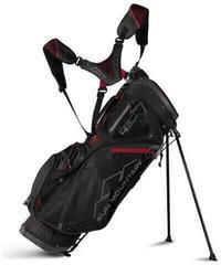 Sun Mountain 4.5 LS Stand Bag Black/Gunmetal/Red