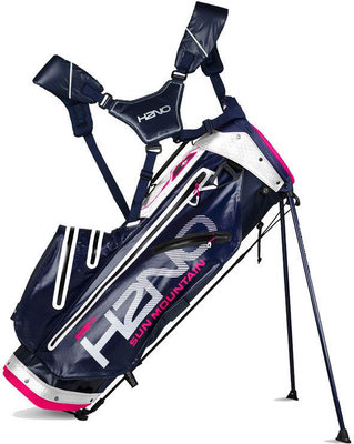 Sun Mountain H2NO Lite Navy/White/Hot Pink Stand Bag 2018