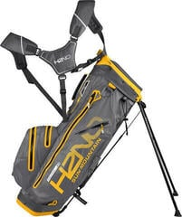 Sun Mountain H2NO 14-Way Waterproof Stand Bag 2018 Gunmetal/Yellow