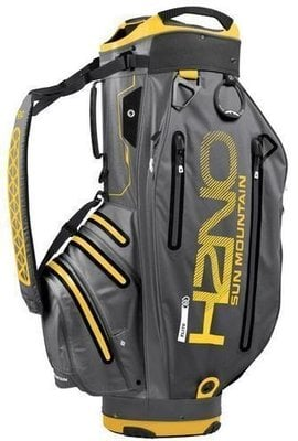 Sun Mountain H2NO Elite Gunmetal/Yellow Cart Bag 2018