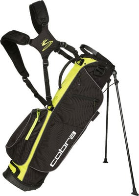 Cobra Megalite Black/Acid Lime Stand Bag