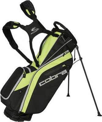 Cobra Ultralight Stand Bag Black-Acid Lime