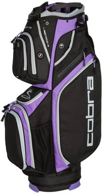 Cobra Ultralight Black/Dahlia Purple Cart Bag