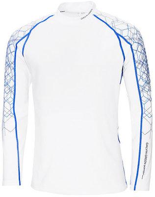 Galvin Green Ebbot Long Sleeve Mens Base Layer White/Kings Blue/Iron XL