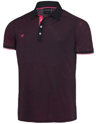 Galvin Green Marlon Shirt V8 Black/Cerise/Green XL