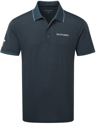 Galvin Green Marty Tour Ventil8 Mens Polo Shirt Navy/White XL