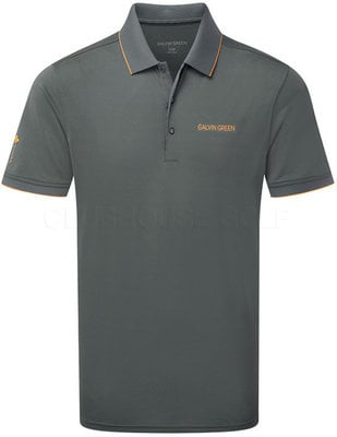 Galvin Green Marty-Tour Shirt Iron grey/Orange M