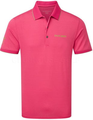 Galvin Green Marty-Tour Shirt Cerise/Fore green S