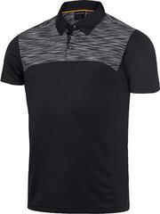 Galvin Green Matthew Ventil8 Férfi Golfpóló Black/Orange 2XL