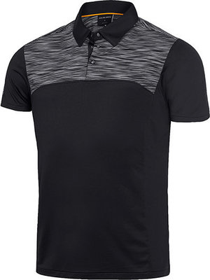 Galvin Green Matthew Ventil8 Mens Polo Shirt Black/Orange 2XL