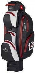 Bennington Sport QO 14 Waterproof Cart Bag Black/White/Red (B-Stock) #930356 (Rozpakowany) #930356