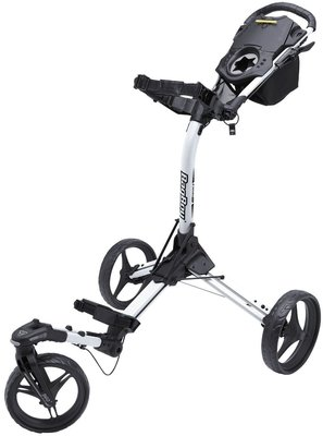 BagBoy Tri Swivel 2.0 Ultra Compact Deluxe Swivel Wheel White/Black