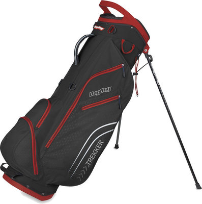 BagBoy Trekker Ultra Lite Black/Red Stand Bag