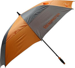 Bennington UV Wind Vent Umbrella Grey/Orange