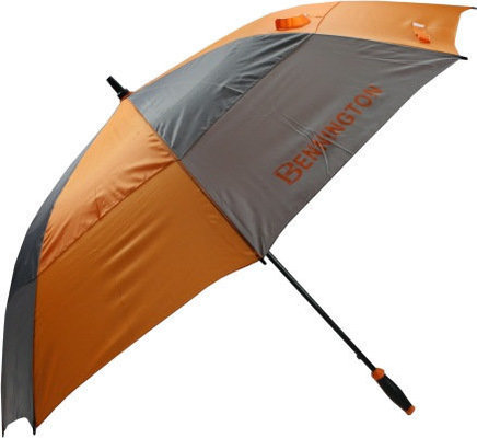 Bennington UV Wind Vent Umbrella Grey/Orange