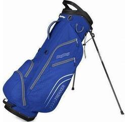BagBoy Trekker Ultra Lite Electric Blue/Yellow Stand Bag