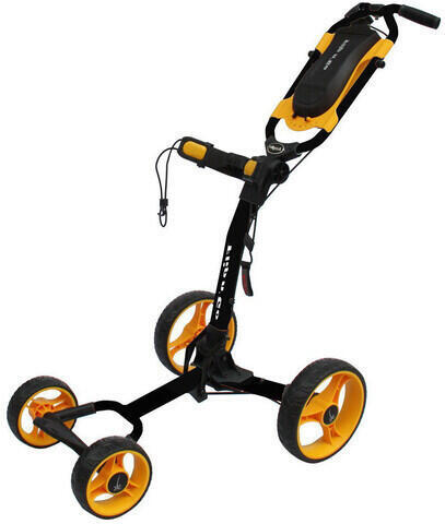 Axglo Flip n Go Black/Yellow Golf Trolley