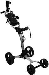 Axglo Flip n Go Silver/Black Golf Trolley