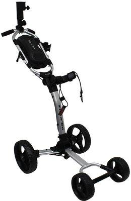 Axglo Flip n Go Silver/Black Golf Trolley