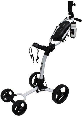 Axglo Flip n Go White/Black Golf Trolley
