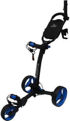 Axglo TriLite Black/Blue Golf Trolley