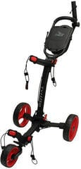 Axglo TriLite Black/Red Golf Trolley