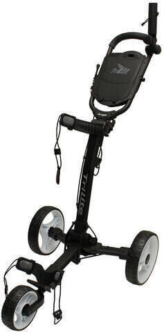 Axglo TriLite Black/White Golf Trolley