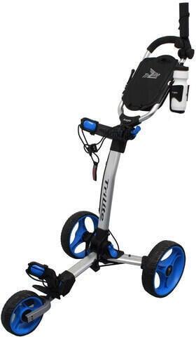 Axglo TriLite Grey/Blue Golf Trolley