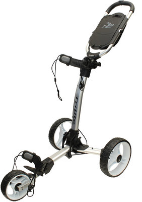 Axglo TriLite Silver/White Golf Trolley