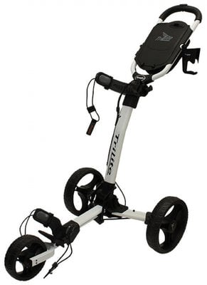 Axglo TriLite White/Black Golf Trolley